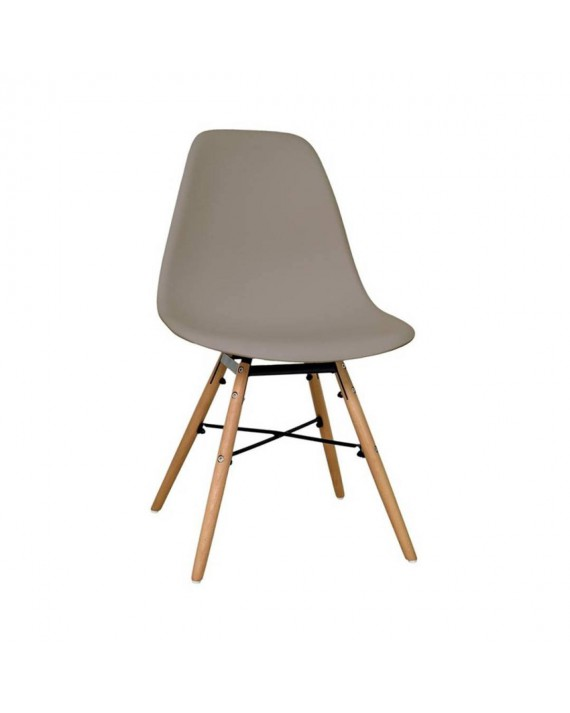 Chaise scandinave Morry taupe