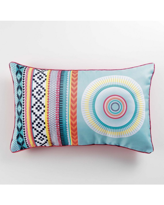 Coussin passepoil 30x50 Mixi