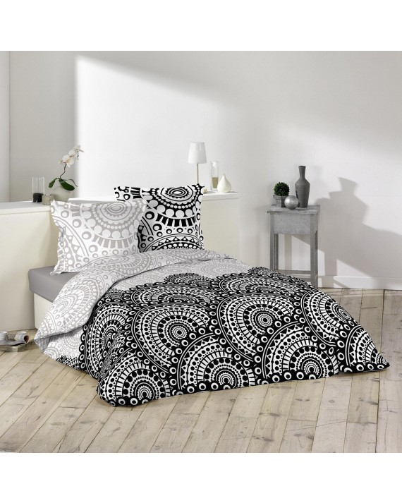 Housse de couette 240x260 Oural + 1 taie 100% coton