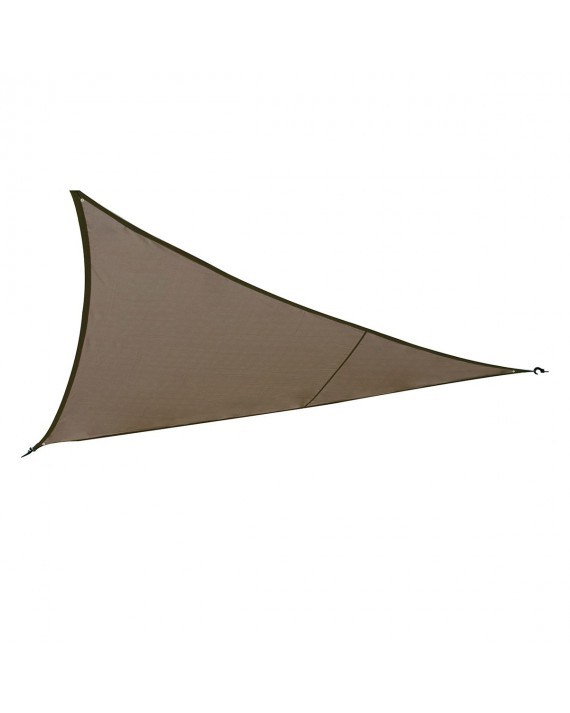 Voile d'ombrage Curaçao 2x2x2 m taupe