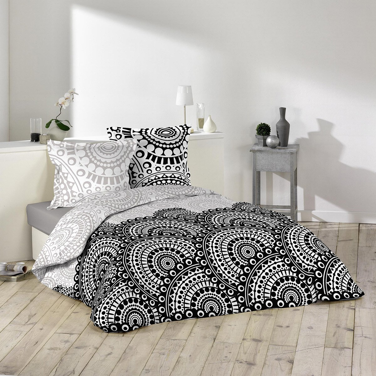Housse de couette 240x260 Oural + 2 taies