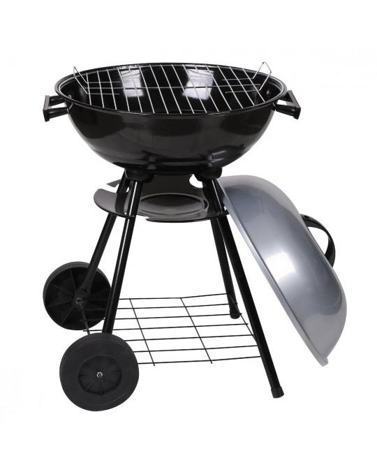 Barbecue avec couvercle