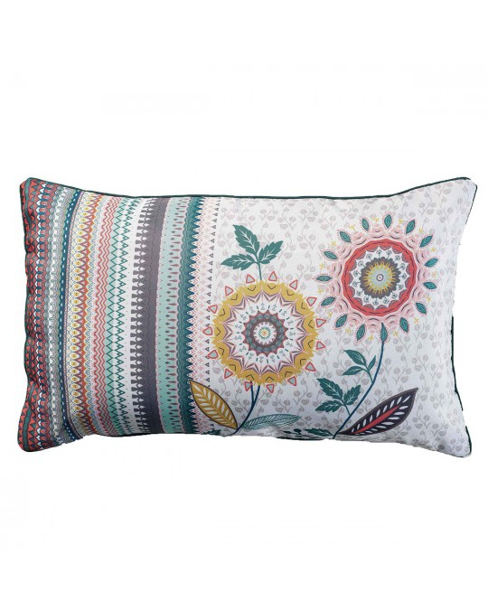 Coussin passepoil 30x50 Andalousie