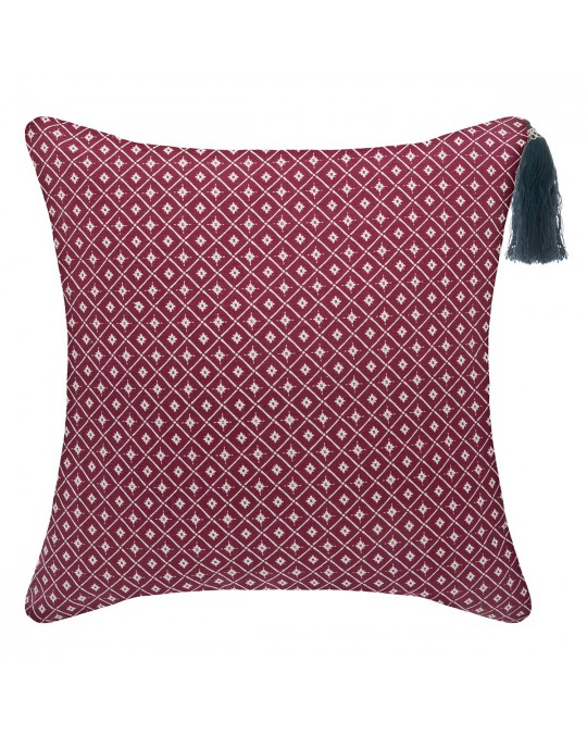 Coussin 40x40 cm Dolce marsala