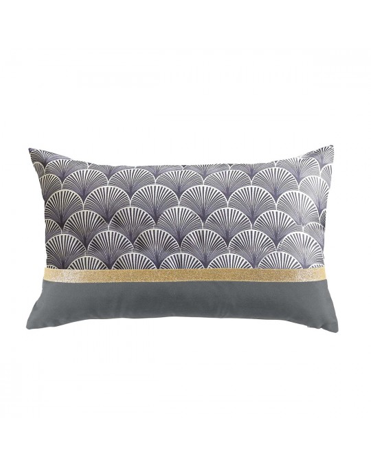 Coussin 30x50 Duchesse anthracite