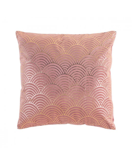 Coussin velours 40x40 Duchesse rose