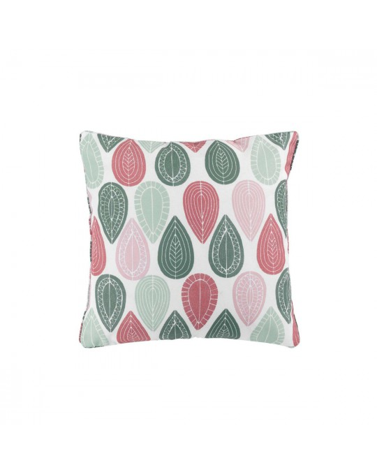 Coussin passepoil 40x40 Palpito rose