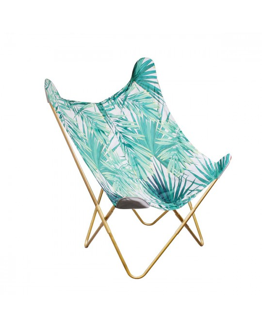 Fauteuil papillon jungle