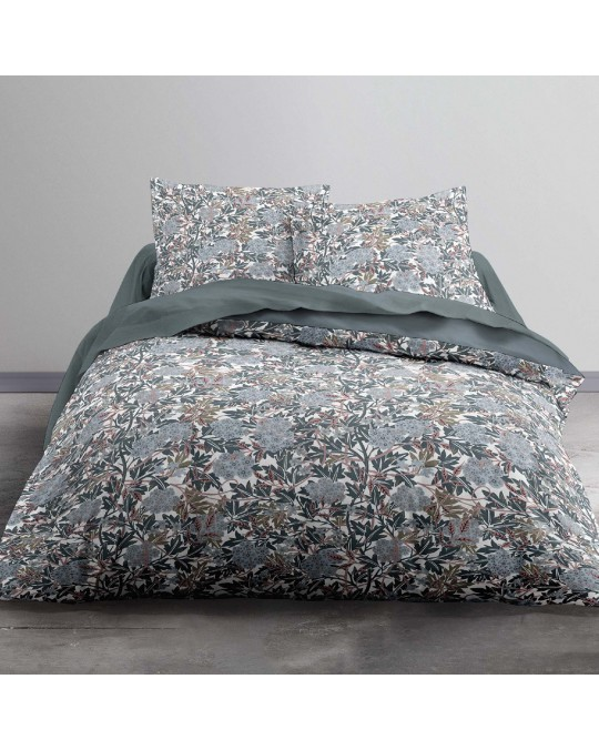 Housse de couette 220x240 Federal Way + 2 taies 100% coton 57 fils
