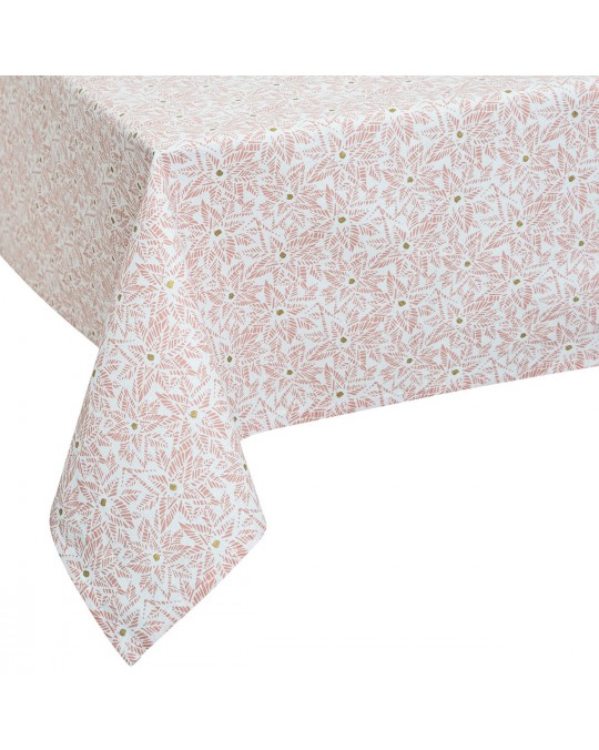 Nappe rectangulaire 140x240 cm Or Tropic