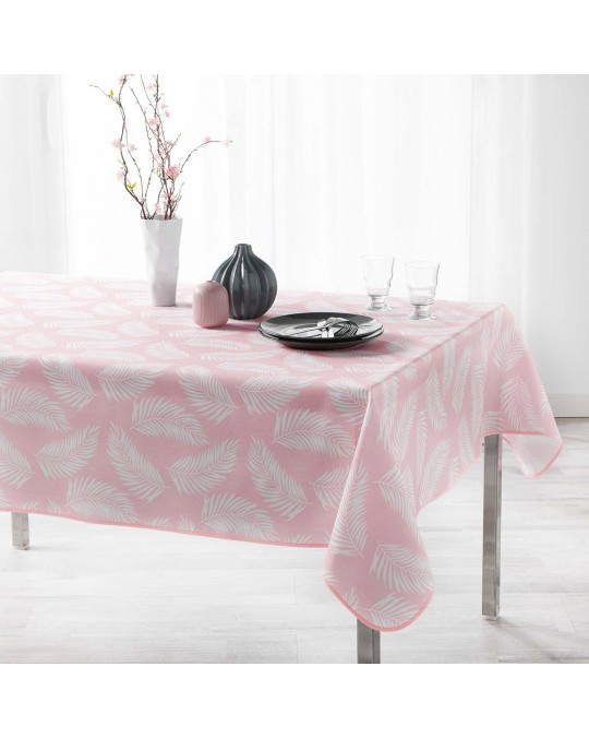 Nappe rectangulaire 150x240 cm Lifette Rose