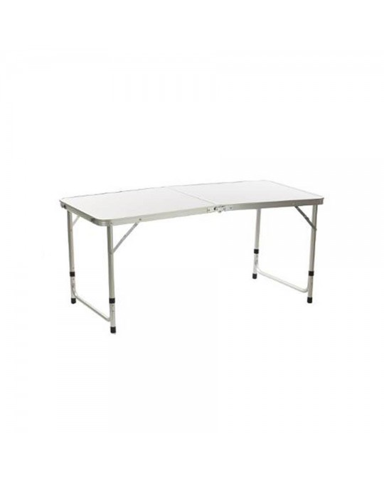 Table pliante alu gris