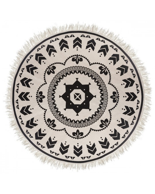 Tapis rond nomade 120 cm